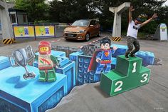 Portfolio « 3D streetpainting by chalk artist Leon Keer