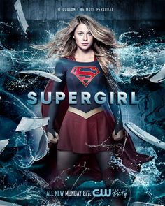 Melissa Benoist Supergirl Season 2 TV Show Art Silk poster Supergirl Movie, Supergirl Season, Supergirl Superman, Kara Danvers Supergirl, Supergirl 2015, Supergirl And Flash, Supergirl Drawing, Batwoman, Batgirl