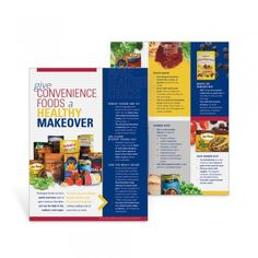 Packaged foods can be a quick and easy way to get a meal on the table, yet can be high in fat, sodium, and sugar. The Give Convenience Foods a Healthy Makeover Handouts offers tips for making boxed, canned, and frozen foods healthier–without adding a lot of extra time or work.