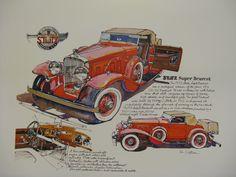1933 Stutz Bearcat by Ken Dallison