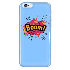 BOOM! Red Cloud iPhone 6 plus cell phone case (Sky Blue)
