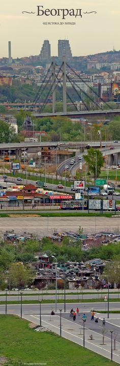 "A very pinteresting & pinnable ""Dissection of Belgrade"" (my title suggestion :-) by @Istok Pavlovic #beograd #belgrade #photo #pinterest"