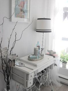 Versatile Vintage: Sewing Machine Tables in Every Room