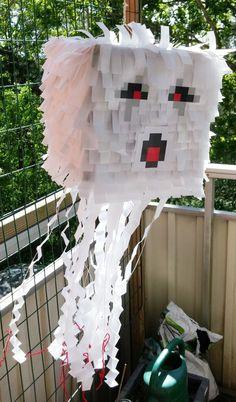 Jag och Tilda har gjort en piñata till hennes Minecraftkalas i nästa vecka. Jag har sett modellen på många ställen men alla har varit av varianten 'slå sönder', vilket jag inte riktigt …