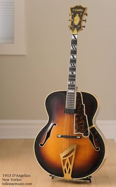 1953 D'Angelico New Yorker