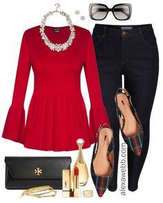 30566867219f 26 Best Plus size Christmas fashion images | Fall fashion, Plus size ...
