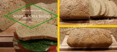 A simple soda bread that is satisfying, low carb, gluten free. Great for sandwiches and snacks.