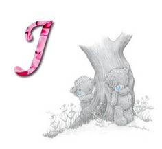 Tatty Teddy hide and seek Tatty Teddy, Teddy Bear Images, Teddy Bear Pictures, Cute Alphabet, Alphabet And Numbers, Das Abc, Blue Nose Friends, Bear Illustration, Letter J