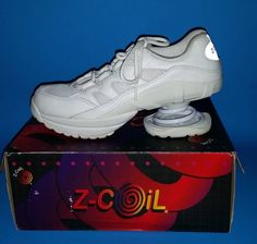 Z Coil Women's 8 Shoes Pain Relief Footwear Freedom 2000 with Box EUC #ZCoil  #