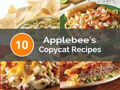 10 Applebee's Copycat Recipes