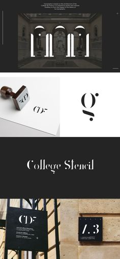 Make your designs more impressive by using College Stencil Font! This is an elegant font which is inspired by arches and collones building. You can use it for logos, headings, body text and anything you think it fits. Check it out and add to your fonts collection right now!