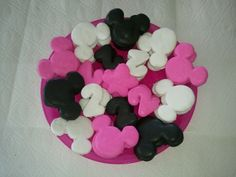 Minnie Mouse Party Cookies