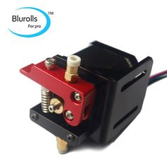 3d printer parts left-hand bowden extruder kit/set (no motor) compact extruder aluminum alloy for 1.75mm filament