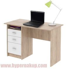 PC stôl, dub sonoma, SAMSON NEW