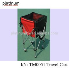 Tennis Travel Ball Cart Tennis Teaching Cart #tennis_basket, #Sports