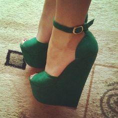 verde esmeralda lindas