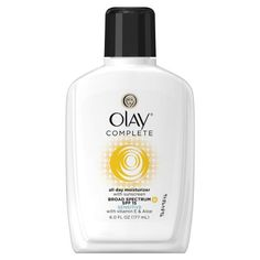 The Ten Best Drugstore Face Moisturizers - #3 Olay Complete All Day Moisturizer #rankandstyle