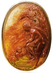 ITALIAN OR FRENCH, CIRCA 1700 CAMEO WITH THE BATH OF VENUS