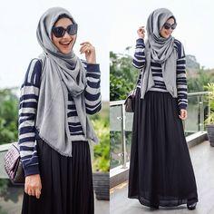 Ranihatta, Indonesian. ♥ Muslimah fashion & hijab style