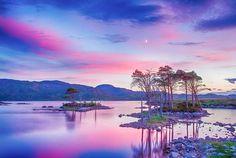 Loch Assynt after sunset