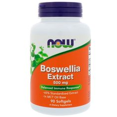 Boswellia Frankincense Extract, 500 mg, 90 Softgels, Now Foods - SuperFoodsNZ Pregnant Nurse, Organic Acid, Sunflower Lecithin, Food Now, Raspberry Ketones, Mct Oil, Wellness, Calorie Diet, Health