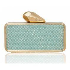 #Getsmartbag Minaudiere for your iphone   Green - Pacific Opal   Swarovski Crystals   Exclusive online edition for www.koturltd.com   #KOTUR #Swarovski
