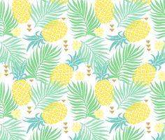 Tropics fabric by studiokex on Spoonflower - custom fabric