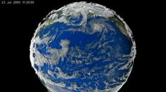 The Earth Looks Like A Living Creature In This Amazing NASA Video. We've all seen images of extreme weather from space. But none of those could prepare us for this video just released by NASA's Scientific Visualization Studio. Using real data, this simulation's volume-rendered clouds depict seven days in 2005 when a category-4 typhoon developed off the coast of China.