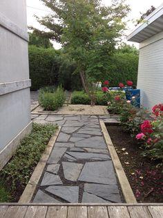 Roserais cote jardin arriere