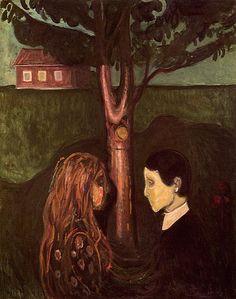 Edvard Munch, Eye in eye