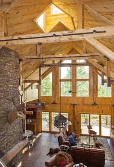 Black Hills Barn Home | Feature Project | Sand Creek Post & Beam