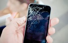 Props – Stewart's cracked iPhone (easily found on Craigslist).