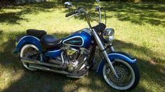 2004 yamaha roadstar 1600 custom by Dave johnson in clearwater Florida