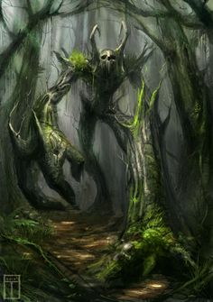 Walking Ent by TyphonArt on deviantART
