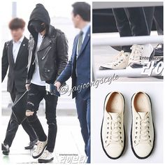 #kimjaejoong was wearing @paraciafootwear in ARGMT/SADDI ($198) at Incheon International Airport heading to Taiwan. Date: 2017.03.31. Credit: Entertainment News and Paracia website. #jaejoong #김재중 #ジェジュン #korean #kpop #singer #singersongwriter #theoneandonly #airportfashion #sneakers #welovejaejoong