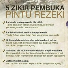 Do dzikir. so you can get job for money to come here babe. Hijrah Islam, Doa Islam, Islam Marriage, Reminder Quotes, Self Reminder, Prayer Verses, Quran Verses, Muslim Quotes, Islamic Quotes