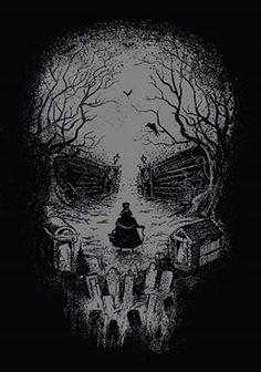 Disney Parks Retired Haunted Mansion Hatbox Ghost Skull Poster NEW 24 Haunted Mansion Disney, Haunted Mansion Tattoo, Haunted Houses, Illusion Kunst, Illusion Art, Arte Horror, Horror Art, Hatbox Ghost, Natur Tattoos