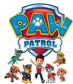 instant download PAW PATROL team Printable DIY by birdofthemoon, $5.00