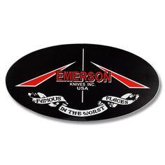 EMERSON KNIVES LOGOS 6 Knife Logo, Emerson Knives, Darth Vader, Logos, Fictional Characters, Logo, Fantasy Characters