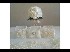 DIY: VICTORIAN STYLE 5 PIECE CANDLE HOLDER DECOR/ WEDDING ALL UNDER $12.00 TO MAKE - YouTube