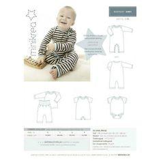 Patron de couture body pyjama Minikrea 20401