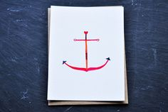 Hand drawn illustrated card by Amy Marcella