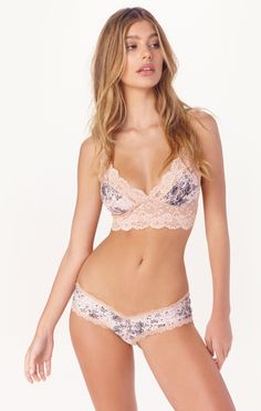 6a471abbf1b jolie printed bralette by Les Coquines