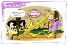 Pocket Princesses 112: Tangled Please reblog, do not... (My Junk Drawer)