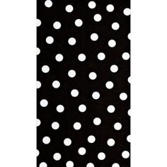 Black Polka Dot Guest Towels 16ct - Party City