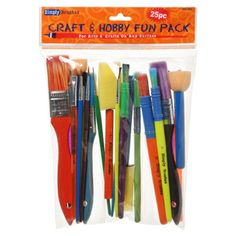 Brush Value Craft Pack 25 pc.