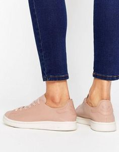 adidas Originals Nude Leather Stan Smith Sneakers