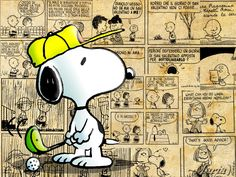 Snoopy playing golf picture, Snoopy playing golf wallpaper