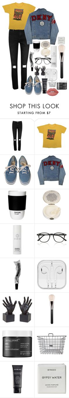 """Daiana"" by angie81602 on Polyvore featuring Boohoo, Simmons, Vans, DKNY, ROOM COPENHAGEN, Lulu Guinness, Oskia, Illesteva, Dot & Bo and MAC Cosmetics"