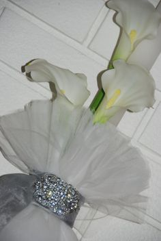 Elegant Crystal and Calla Lily Greek Wedding by KoulEvents on Etsy, $200.00 Ethnic Wedding, Greek Wedding, Calla Lily, Flower Arrangements, Weddings, Crystals, Elegant, Flowers, Etsy